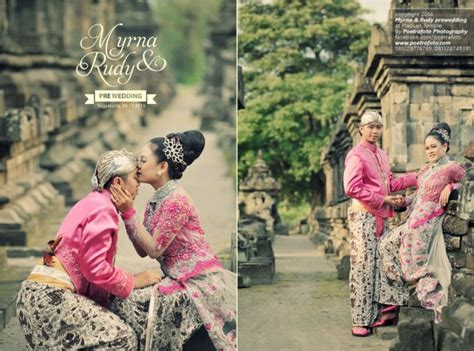 pre wedding photoshoot  indonesian traditional wedding