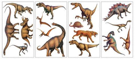 Stickers Repositionnables Dinosaures 16 éléments. Les