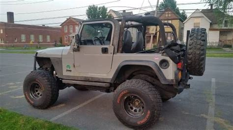 jeep wrangler 2 door modified 1999 jeep wrangler sport 2 door 4 0l lifted jeep