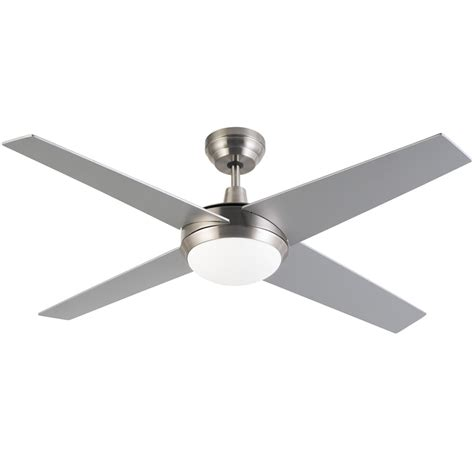 zenta 130cm 4 blade grey zephyr ceiling fan with remote