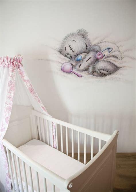 muurschildering babykamer airbrush r brush muurschildering in de babykamer van een me to you