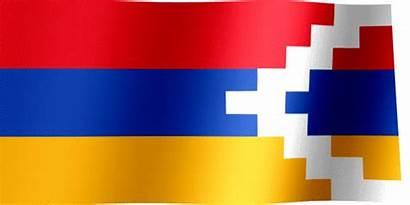 Artsakh Flag Republic Flags Recognized Nu