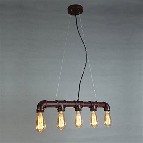 ONEPRE Industrial Steampunk Ceiling Pendant Light