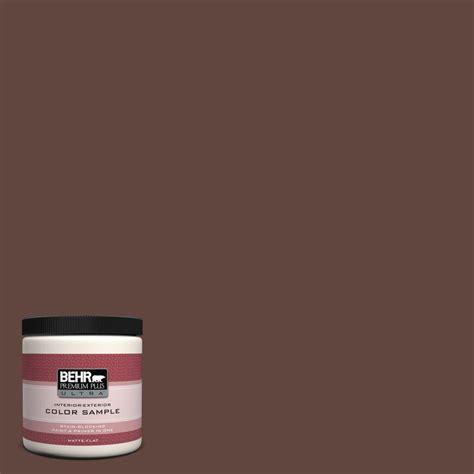 behr premium plus ultra 8 oz 180f 7 warm brownie
