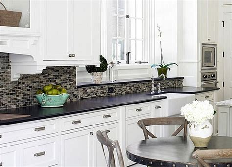 kitchen backsplashes for white cabinets kitchen backsplash ideas for white cabinets my home