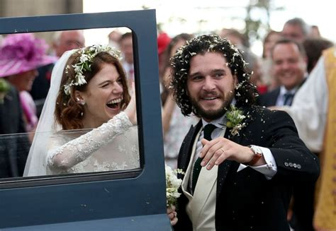 Inside 'Game of Thrones' stars Kit Harington and Rose ...