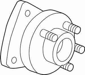 Pontiac Montana Wheel Bearing And Hub Assembly  Front