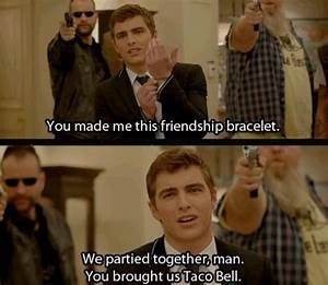 21 jump street, yet another excellent Dave Franco quote ...