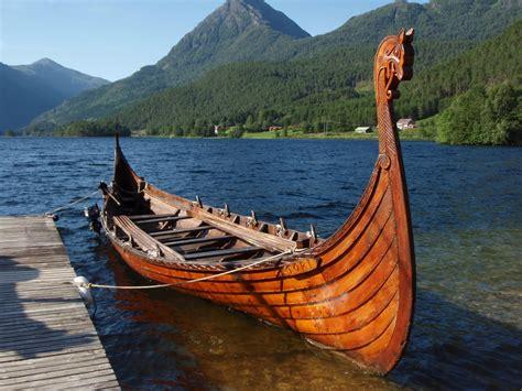 Viking Boats by Auld Rasmie Viking Boats