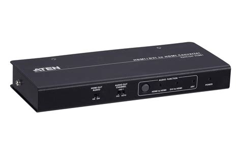 4k Hdmi/dvi To Hdmi Converter With Audio De-embedder