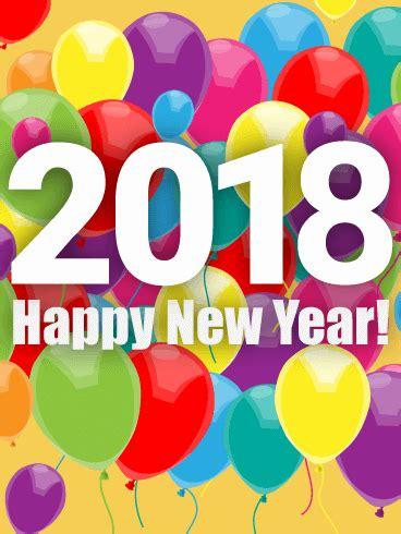 rainbow  year balloon card  birthday greeting