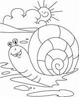Snail Coloring Escargot Sea Schnecke Ausmalbilder Malvorlagen Kleurplaten Schnecken Snails Animaux Printable Rocks Coloriage Konabeun Zum Slakken Getdrawings Dieren Dessin sketch template