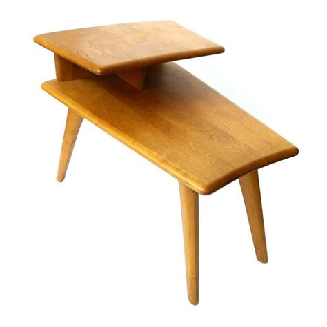 two tier end table midcentury heywood wakefield two tier end table at 1stdibs