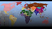 The History of the World in One Video: Every Year from ...