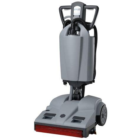 lindhaus lw46 hybrid floor scrubber burdens vacuum