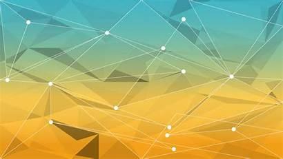 Geometric Wallpapers Desktop Yellow Ubuntu System76 Backgrounds