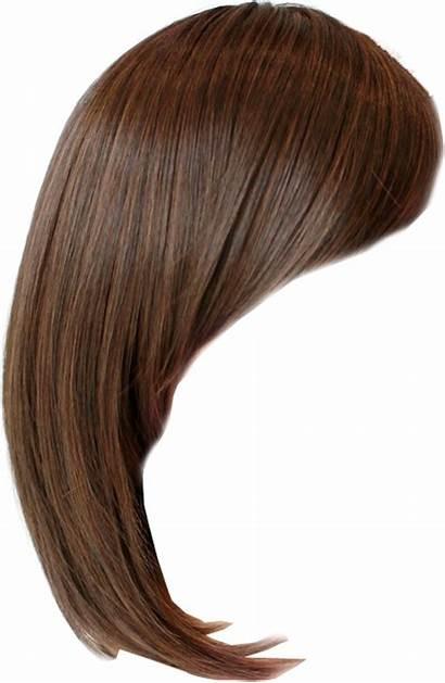 Transparent Hair Wig Background Side Bob Clip