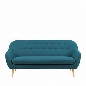 Canapé Scandinave Bleu : canap design scandinave capitonn cirrus drawer ~ Teatrodelosmanantiales.com Idées de Décoration