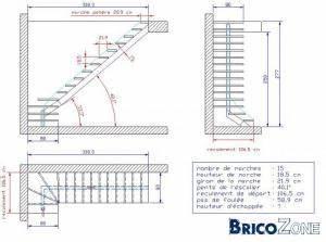 Calcul Escalier Quart Tournant : calcul escalier tournant cool calcul escalier tournant ~ Dailycaller-alerts.com Idées de Décoration