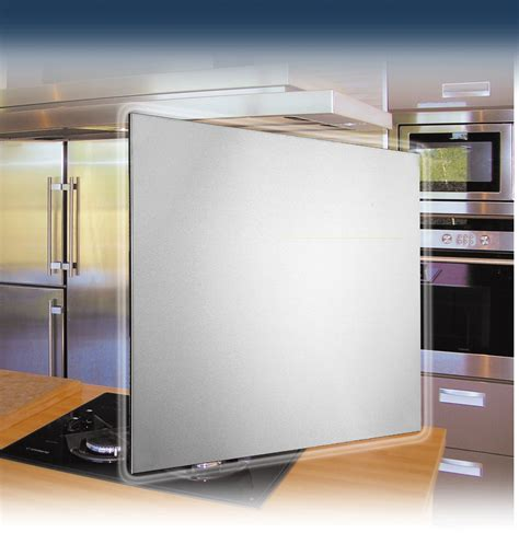idee deco credence cuisine credence inox a coller