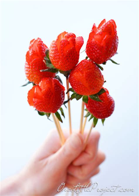 strawberry rose strawberry roses bouquet
