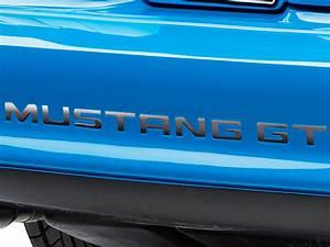 black chrome vinyl mustang bumper insert letters 94 98 gt With chrome mustang bumper letters