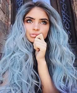 Blaue Haare Ombre : trendige frisuren m derne haarfarben und haarschnitte ~ Frokenaadalensverden.com Haus und Dekorationen