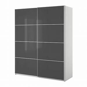 Kleiderschrank Schiebetüren Ikea : ikea pax kleiderschrank mit schiebet ren ikea ~ Lizthompson.info Haus und Dekorationen
