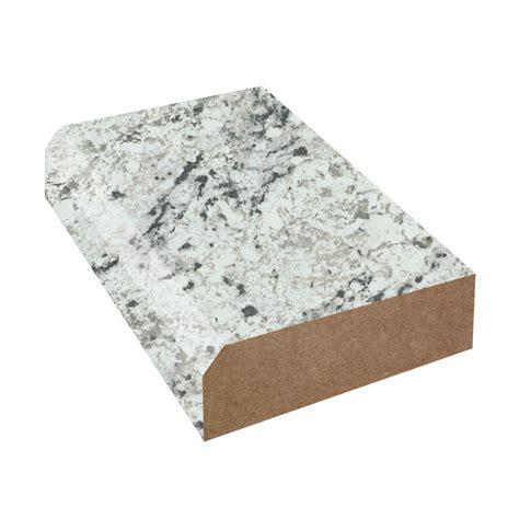 Laminate Countertop Beveled Edge by Formica Laminate White Granite Color Caulk
