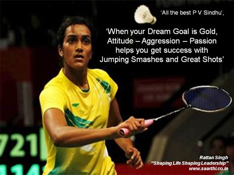 badminton quotes    dream goal  gold