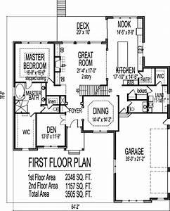 Four Bedroom House Floor Plan – Gurus Floor