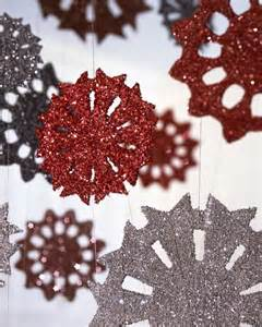 Snowflake Template Martha Stewart by Tinsel Snowflake Step By Step Diy Craft How To S And