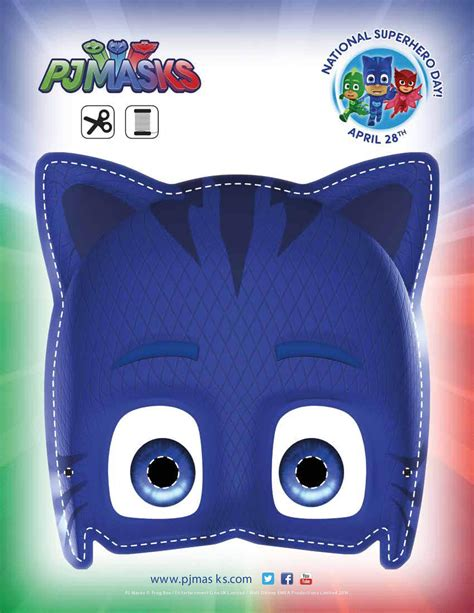 pj masks template pj masks printables for free