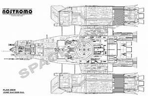 Image Gallery nostromo blueprints