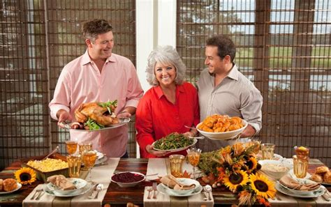 This bakeware goes straight from the oven to the table. A Traditional Southern Thanksgiving on PaulaDeen.com ...