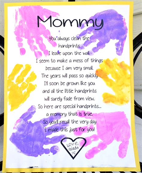 mothers day poems for preschoolers 9 free s day printables poems crafty morning 742