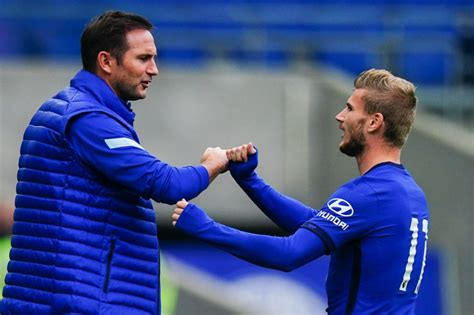 #UCL: Watch Frank Lampard and Timo Werner speak on Chelsea ...
