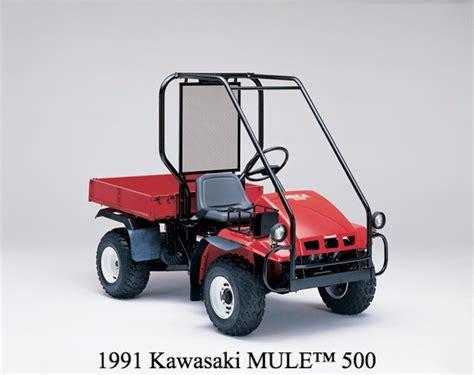 Kawasaki Mule 500 by Kawasaki Mule Celebrates 30 Years Utv Guide