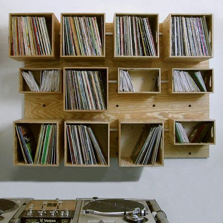 vinyl record shelf wall of record storage four walls 3286