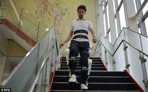 robotic exoskeleton to help rehabilitate disabled