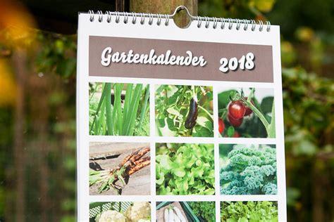 Garten Kalender Mit Samentütchen 2018 Selbstversorgung