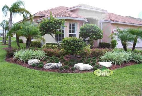 front yard landscape tropical landscape miami