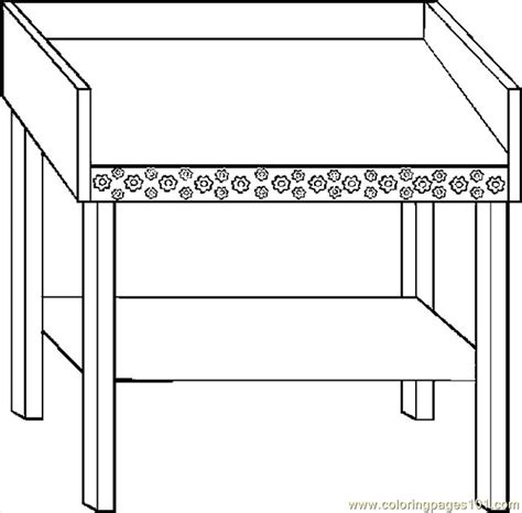 changing table coloring page   coloring pages