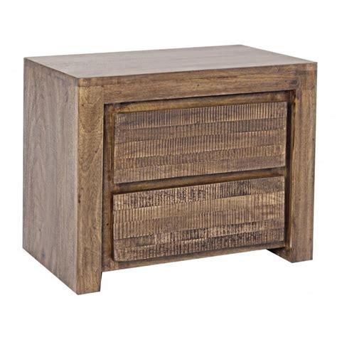 comodini in legno massello comodino in legno massello di mango mobili etnici orientali