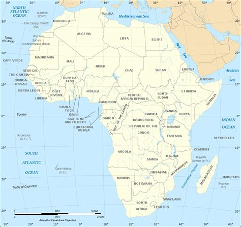 map  africa political map english worldofmapsnet