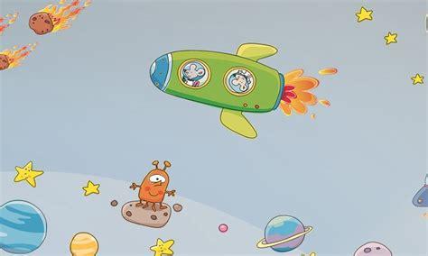 Stickers Per Camerette Bambini by Stickers Murali Bambini Cameretta Viaggio Nello Spazio