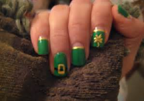 Cute holiday nail art on a budget easy st patrick s day nails
