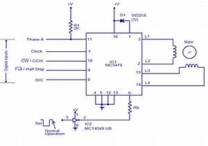 Schematic  U0026 Wiring Diagram  Mc3479 Stepper Motor Driver