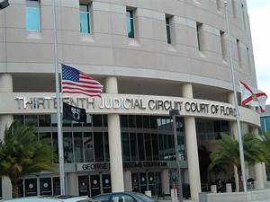 Tampa, FL : This is the courthouse in downtown Tampa ...