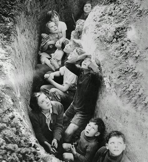 Old Snapshots Of British Schoolchildren During World War Ii  Vintage Everyday